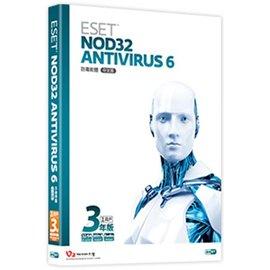 ~願景~NOD32 ESET Antivirus 6.0 單機3年 ~預計交期五個工作天~