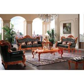 紅蘋果傢俱  A802T 艾廷軒系列 歐式沙發 法式沙發 新古典 布 皮沙發 實木雕刻