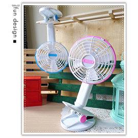 【Q禮品】A2455 旋轉夾式風扇/嬰兒床風扇/擺頭風扇/充電電風扇/USB風扇/可接行動電源/迷你電風扇