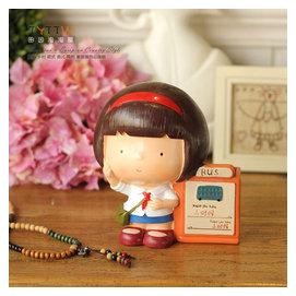 致青春 回憶小時候樹脂系列娃娃擺件 新年 儲錢罐