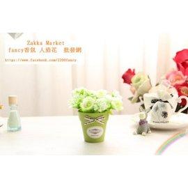 ~Zakka Market~玫瑰花植物迷你植物盆栽