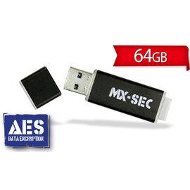 ^~極速馬赫^~ USB3.0 AES 256 加密隨身碟 MX~SEC 系列 64GB