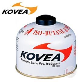 探險家戶外用品㊣KGF-0230韓國KOVEA 高山瓦斯罐230g 極地氣瓶-22度異丁烷丙烷丁烷混和氣罐高山寒帶用
