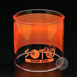 探險家戶外用品㊣ST-2302 日本SOTO 防蚊燈罩 (波紋橘) 瓦斯燈玻璃燈罩玻璃罩 (適用ST-210.ST-213.ST-230.ST-233)