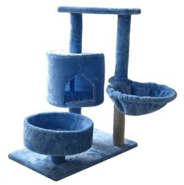 ~GOLD~~ 寵喵樂~含運~休閒水藍色貓跳台 全貓用貓跳台~滿足貓咪的玩樂休憩