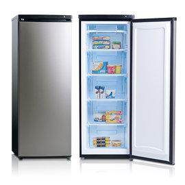 美國富及第 Frigidaire FRT~1855MZ 立式185公升冷凍櫃 黑銀◆冷凍可