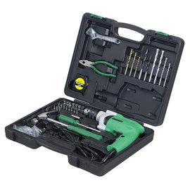 Hitachi日立 插電震動電鑽DV13VSS HT★可變速度、可正逆轉★內含限量工具套裝組