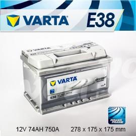 ~加倍伏Voltplus~德國銀合金 VARTA 華達〈E38 74AH〉福特FORD F