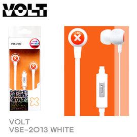 VOLT VSE~2013 加減乘除線控耳機麥克風 白色