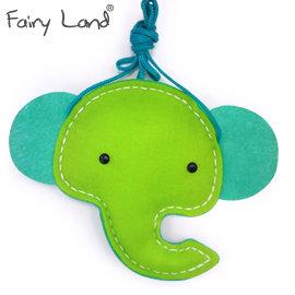 Fairy Land~材料包~動物斜背包~大象 FCB~128