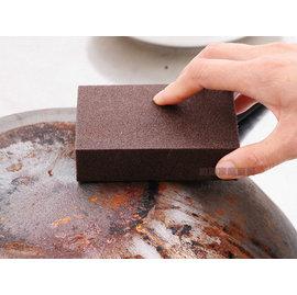 約翰家庭百貨》【AG440】金鋼砂海綿 專除鐵鏽銅鏽 燒焦 鍋粑 磨刀 各種頑固污漬 比鐵絲球更好用