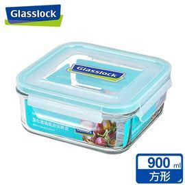 Glasslock強化玻璃微波保鮮盒 - 方形900ml