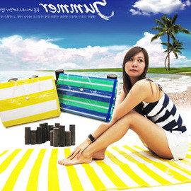 免  海灘墊X15~1^(野餐地墊.野餐墊.海灘墊.沙灘墊.防水.睡墊.露營墊.坐墊.遊戲