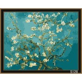 繪畫 DIY手繪風景人物花卉數字油畫 40x50【HH婦幼館】02下標區