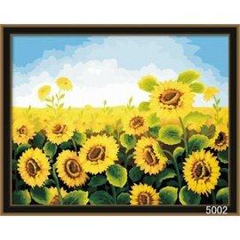 繪畫 DIY手繪風景人物花卉數字油畫 40x50【HH婦幼館】07下標區