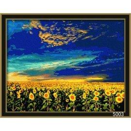 繪畫 DIY手繪風景人物花卉數字油畫 40x50【HH婦幼館】08下標區