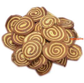 【吉嘉食品】永津 黑糖螺餅(黑糖大耳朵)[4*5cm] 500公克60元,另有安堡 蛤仔餅{312-42:500}