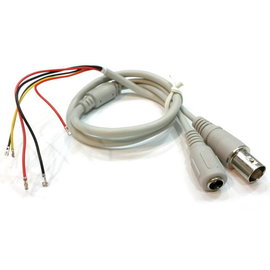(裸線) 監視器/監控裝置 BNC(母) + DC 5.5*2.1mm(母) 轉接線/轉換線/訊號線 **60CM**