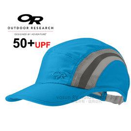【美國 Outdoor Research】THROTTLE CAP™ UPF50+ 透氣快乾棒球帽/防曬透氣鴨舌帽.跑步帽.棒球帽.登山健行.運動/藍 OR80685