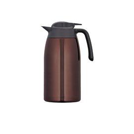 THERMOS 膳魔師 2L 不鏽鋼真空保溫壺 THV-2000-CBW (咖啡色)