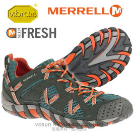 ~美國 MERRELL~男鞋 WATERPRO MAIPO 水陸兩棲健行登山鞋. 鞋 輕量