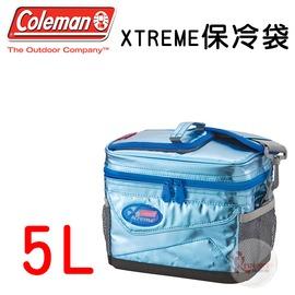 探險家戶外用品㊣CM-22237 美國Coleman 5L XTREME保冷袋 冰桶冰筒行動冰箱保冷箱保冰袋