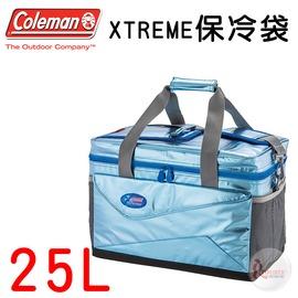 探險家戶外用品㊣CM~22238 美國Coleman 25L XTREME保冷袋 可 拖輪