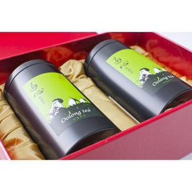 ~幸福茶匠~阿里山高山茶~匠心烏龍茶精緻展示 裝 ~四兩^~2罐^(150g^~2罐^)~