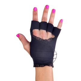G~LOVES ~美國健身新銳品牌~ 手套 ~ 黑蕾絲