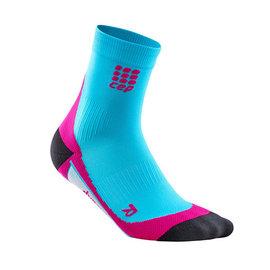 CEP ~歐洲第一品牌~壓縮短襪 ~ 夏威夷藍 螢光粉紅