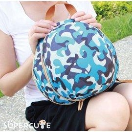 Supercute 頭盔迷彩雙肩背包