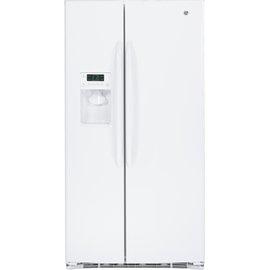 乐源家电 GE奇异733L对开门冰箱GSHF6LGBWW白色变频门外取冰取水 另有来电询问价