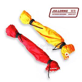 【嘉隆 JIA-Lorng】簡易型登山綁腿(全長36cm)/防水綁腿.鬆緊式腿套.耐磨防撕裂腿套/適登山.攀岩.健行_顏色隨機出貨 E-231