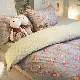愛麗絲之花 單人床包2件組 舒適磨毛布