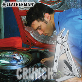 【美國 Leatherman】CRUNCH 工具鉗/隨身工具組.迷你工具.緊急應變/適登山.露營.野外探險/  68010281N