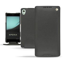NOREVE Sony Xperia Z3+ Z4 下掀式真皮皮套 皮革 保護套 保護殼 手機殼 客製化 腰掛 手工訂製 法國頂級手機皮套 4種設計 50種以上顏色