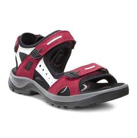 下殺1680免運 正品ECCO 春夏新款時尚涼鞋女低跟平底鞋 柔酷5號涼鞋系列218523