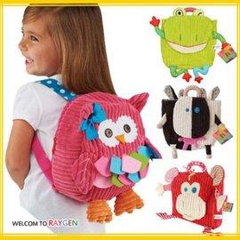 卡通動物造型兒童雙肩背包 書包 玩具包【HH婦幼館】