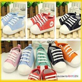 童鞋 側BABY嬰兒休閒軟底鞋 帆布鞋 學步鞋 【HH婦幼館】