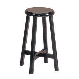 ~森可家居~平面高古椅 6JX679~11 木圓椅凳