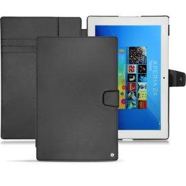 NOREVE Sony Xpeira Z4 Tablet  筆記本式支架皮套 真皮 保護套 手工訂製 法國NOREVE頂級平板皮套 2種設計50種顏色