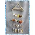 ~自然 屋~天然海洋貝殼風鈴,浪漫峇厘島海洋風情風鈴,扇貝殼藝術 風鈴,貝殼風鈴,風鈴,