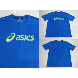 新莊新太陽 asics 亞瑟士 K31401~43 吸汗 快乾 短袖 T恤 水藍色 特45
