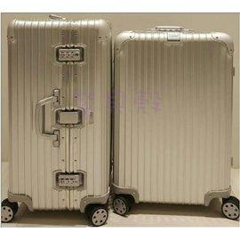 『型號:920.63.00.4』RIMOWA Topas 26吋 小型四輪旅行箱  (台灣公司貨/全球保固五年/品質保證)