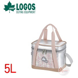 探險家戶外用品㊣NO.81670432 日本品牌LOGOS INSUL10軟式保冷袋5L-粉紅 保冷箱行動冰箱冰筒冰桶