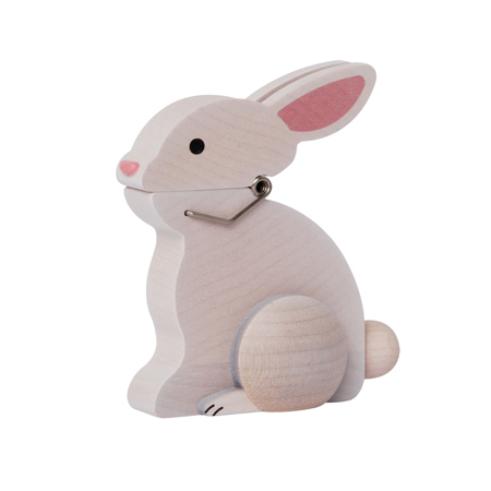 兔夹子夹动物图片