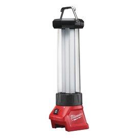 Milwaukee 18V鋰電LED全照明燈M18LL-0(單機)★180度-360度可調光★內建USB充電器功能★四種燈光設置