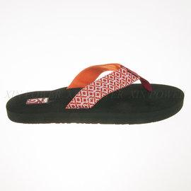 TEVA~Mushroom 女 經典緹花織帶 超柔軟 夾腳運動拖鞋 (4198RMR)
