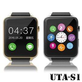 觸控式藍牙智慧手錶 Line FB 心率偵測 通話 可插記憶卡 S1 W1 W6 智能穿戴 APPLE WATCH外型