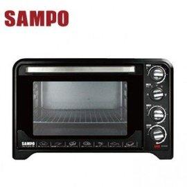 ◤A級 品• 中◢ SAMPO 聲寶 35L雙溫控油切旋風烤箱 KZ~PA35C
